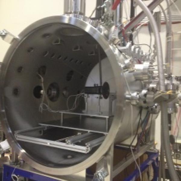Cassini 2 prototype in test chamber
