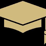 Gold Graduation Hat