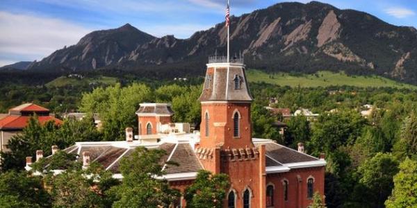 Old Main at CU Boulder