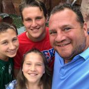 Andy Klein family shot
