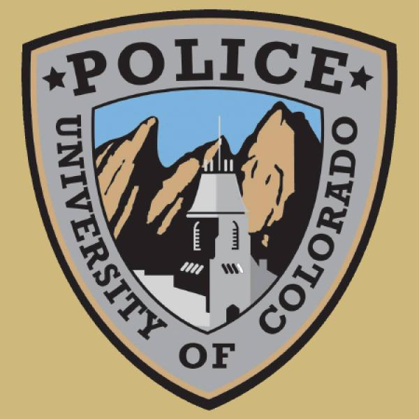 The CU Boulder Police uniform patch