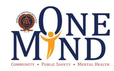 The logo for the One Mind campaign