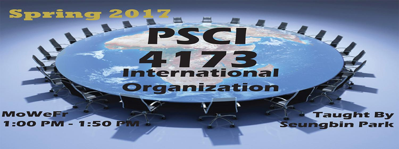 PSCI 4173 Spring 2017