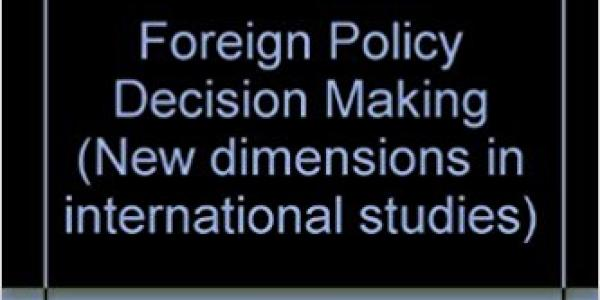 Foreign Policy Decision Making: Perception, Cognition and Artificial Intelligence book cover
