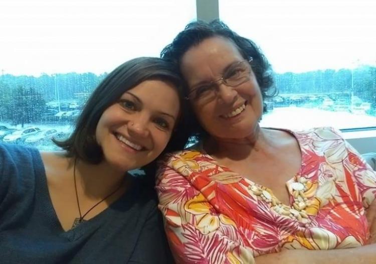 Shawnna and grandma
