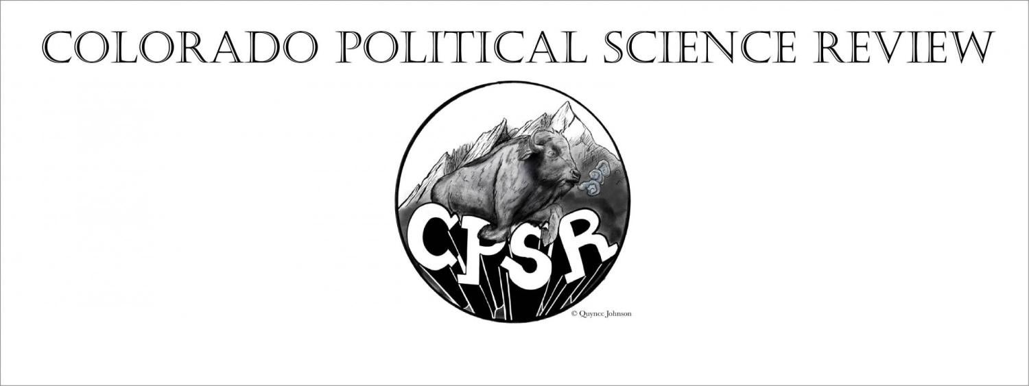 Colorado Political Science Review