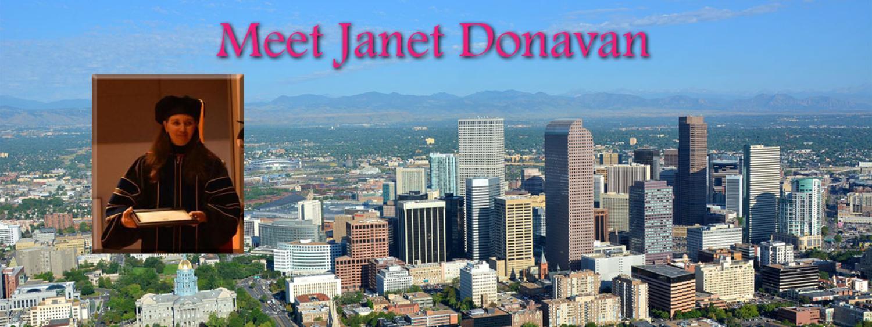 Meet Janet Donavan