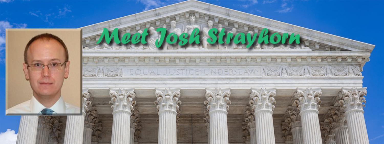 Meet Josh Strayhorn