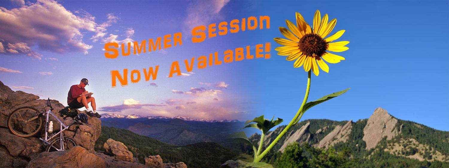 Summer Session Courses