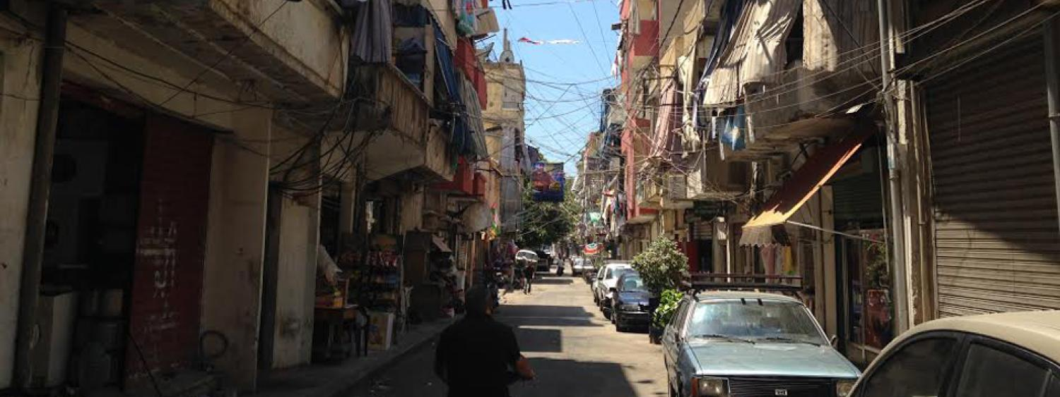 Alley in Cyprus