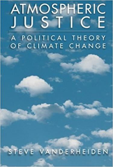 A Political Theory of Climate Change book cover