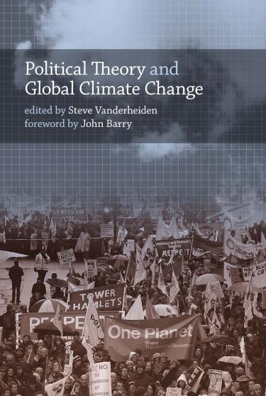 Political Theory and Global Climate Change book cover