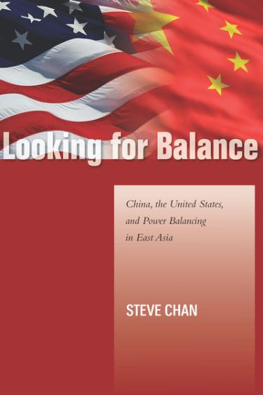 China, the United States, and Power Balancing in East Asia book cover