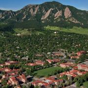 Boulder in the Summertime