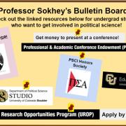 Sarah Sokey Bulletin Board