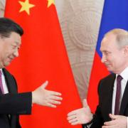 Russia and China Build anti Us 'axis'