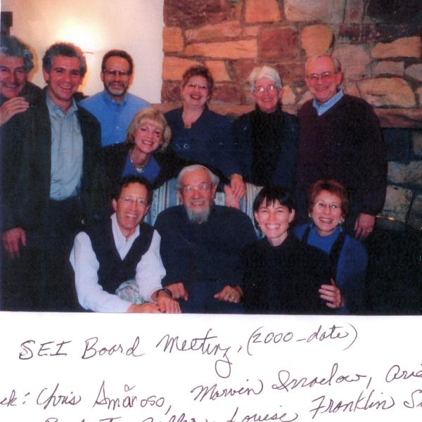 Photo from Spiritual Eldering Institute board meeting from Judith Helburn