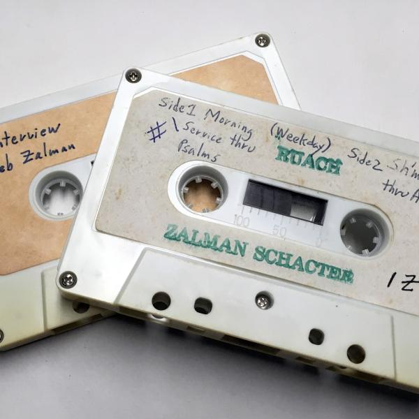 Cassette tapes of Schachter-Shalomi