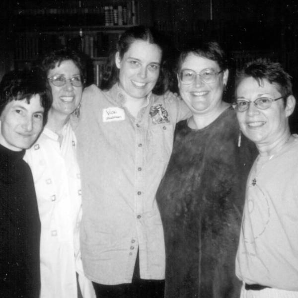 Image of Chava Weissler with friends