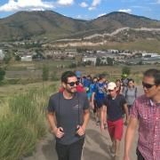 PAC Members Hiking