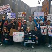 PAC members at the March for Science 2017 - 1