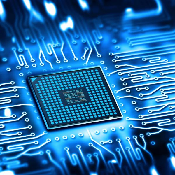 An electronic chip