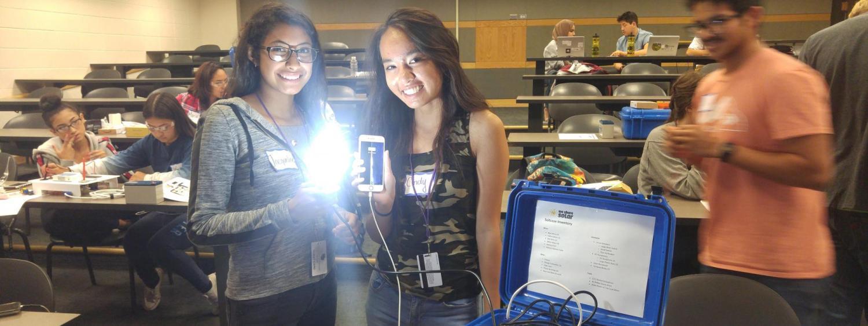 Winning team of solar design project