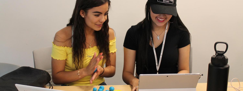 Program participants prototype 3D Printing Deisgns