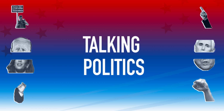 talking politics banner