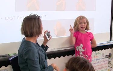 Fingerspelling Phonological Awareness