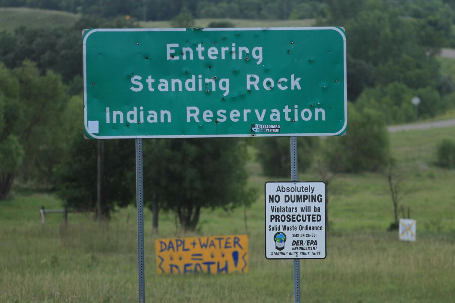 welcome to standing rock