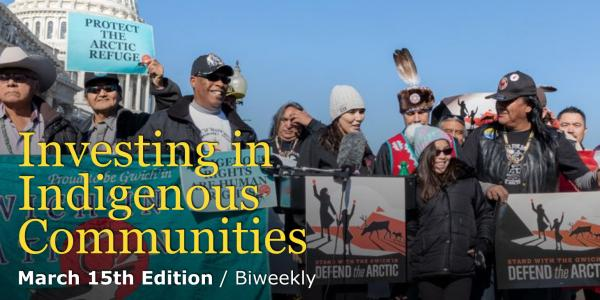 Green Money Journal Indigenous Issues - March 15, 2020