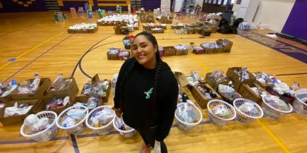 Women-led Navajo Volunteers during COVID-19