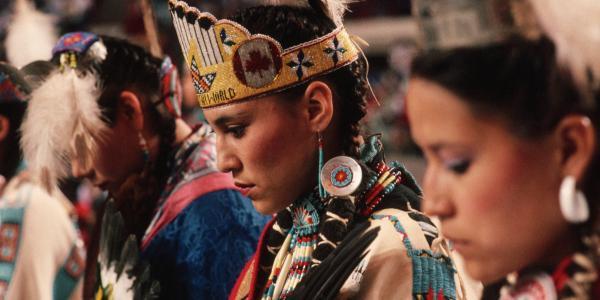 Native American Dance Group via History.com