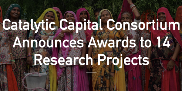 Catalytic Capital Research Grant