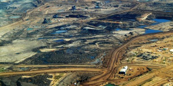 Tar sands in Alberta, 2008.