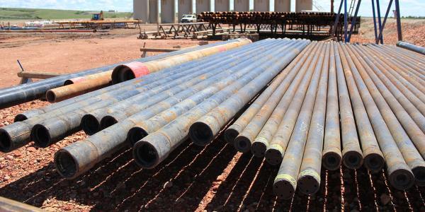 North Dakota Oil Field