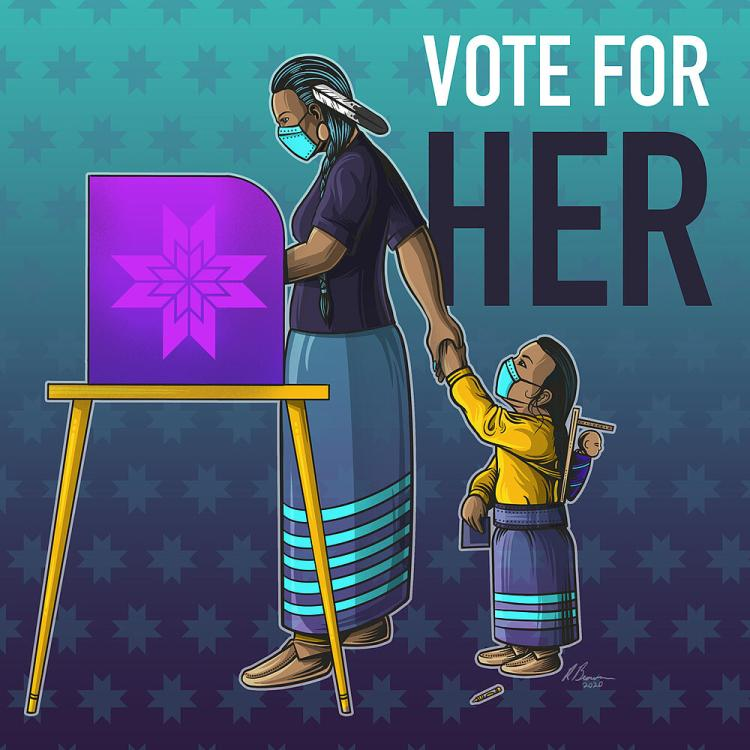 """""""Vote for Her"""" by Ben Brown"""