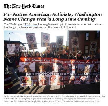 NYT Washington Team