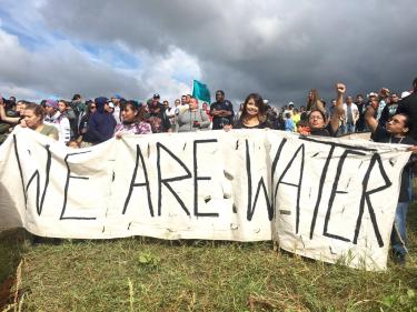 Sacred Stone Camp We Are Water