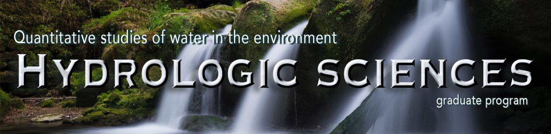 Hydrologic Sciences title