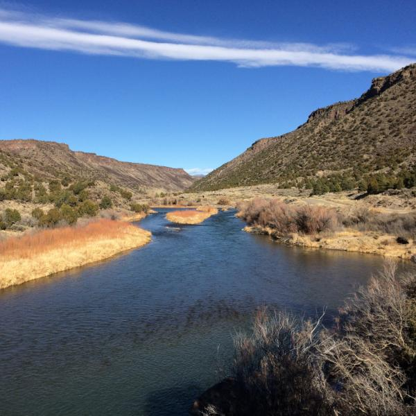 Rio Grande near Taos, New Mexico
