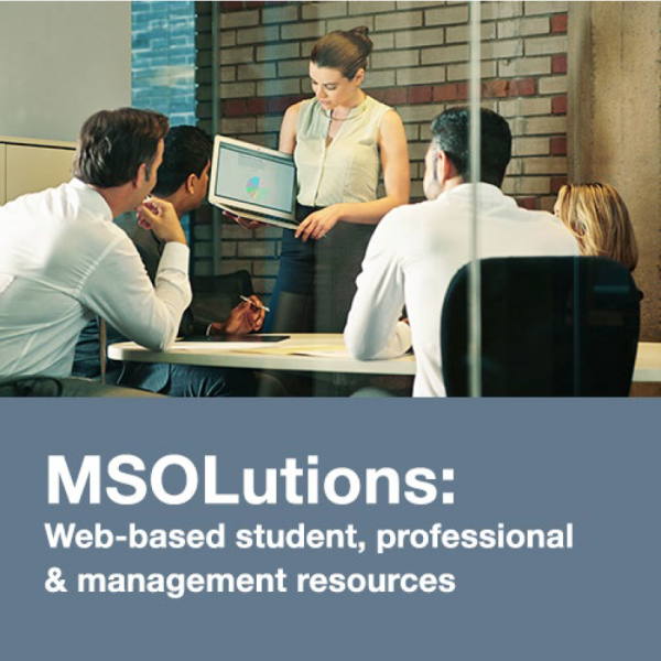 MSOLutions: Web-based student, professional & management resources