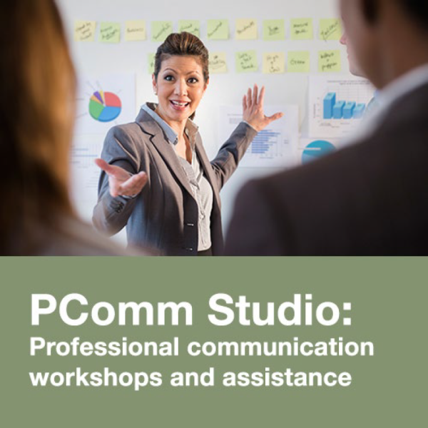 PComm Studio: Professional communication workshops and assistance