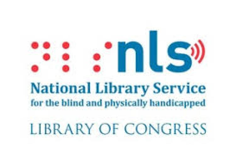 logo for national library service for the blind