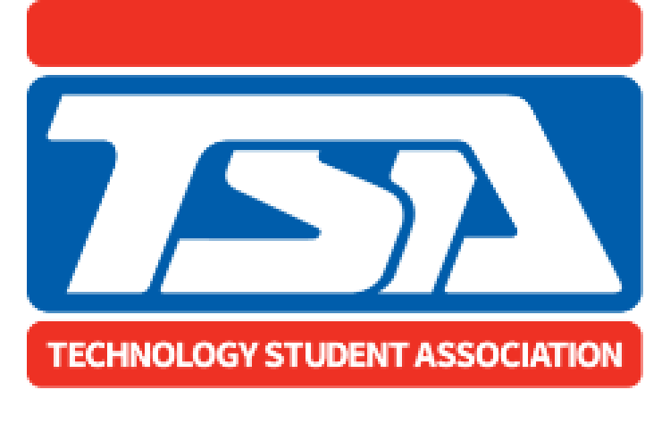 Logo for Technology Student Association showing the letters T, S, A.