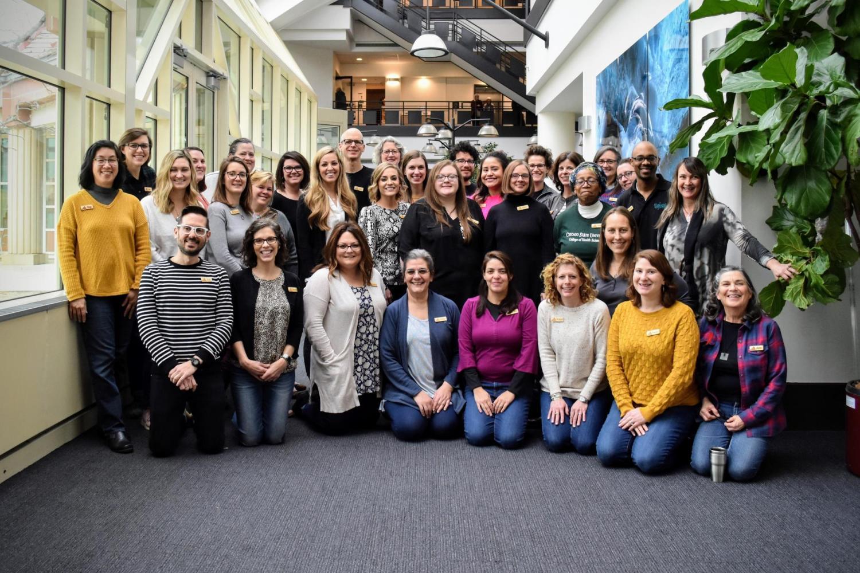 Group photo of 2020 workshop participants.