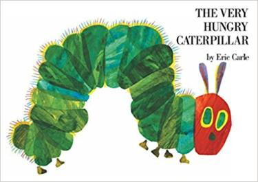 Book Cover of The Very Hungry Caterpillar by Eric Carle
