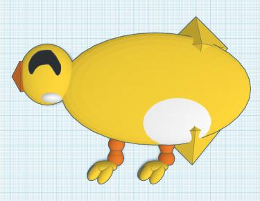 3D printed duck design
