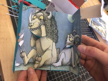Monster from Where the Wild Things Are